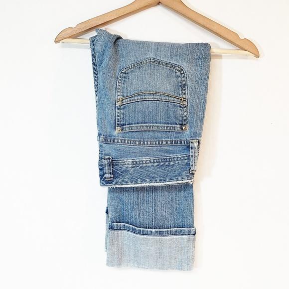 GAP Denim - Gap Low Rise Cropped Stretch Jeans Size 8 Blue